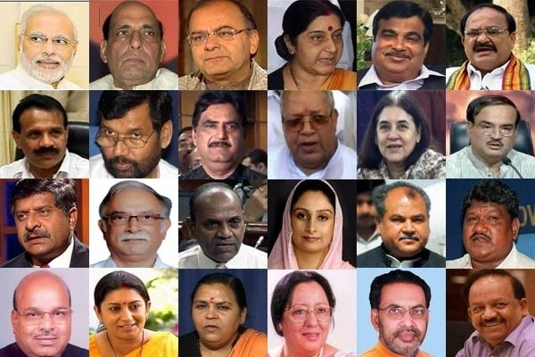 Indian Cabinet Ministers NITI Commission Members List with Latest update