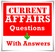 Current Affairs 2019 GK Questions 601-620 Download PDF