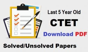 CTET Practice Set-2 TGT PGT PRT Exams Download PDF Free