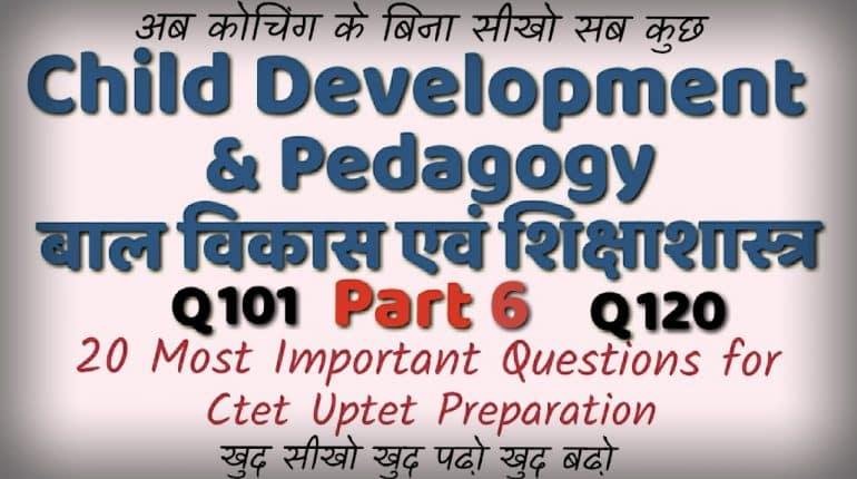 Psychology 1000 Questions Answers CTET UPTET HTET Download PDF