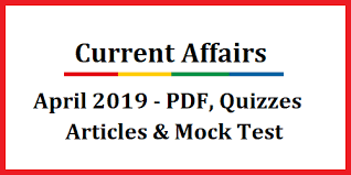 Current Affairs December 2019 Latest Current Affairs 2019 Download PDF
